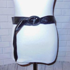 NEW Aldo Black PU Leather Belt Small/ Medium
